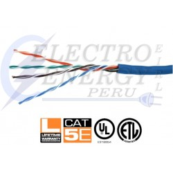 CABLE UTP CAT 5E AZUL - NEXXT