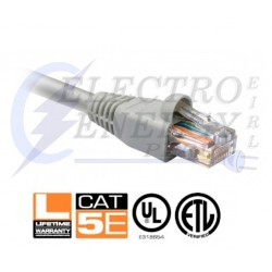 PATCH CORD CAT 5E - 7FT COLOR GRIS - NEXXT